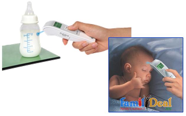 Nhiệt kế hồng ngoại đo trán Microlife FR1DL1 NHOMMUA HOTDEAL