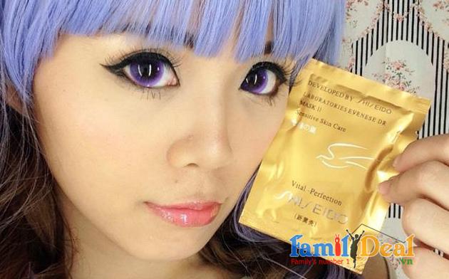 SET 12 Mặt Nạ Shiseido Mask 24k