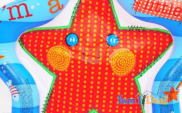 Bể phao hình ngôi sao ngộ nghĩnh