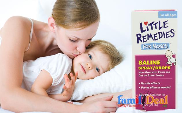 Chai xịt trị nghẹt mũi Little Remedies 57ml NHOMMUA HOTDEAL