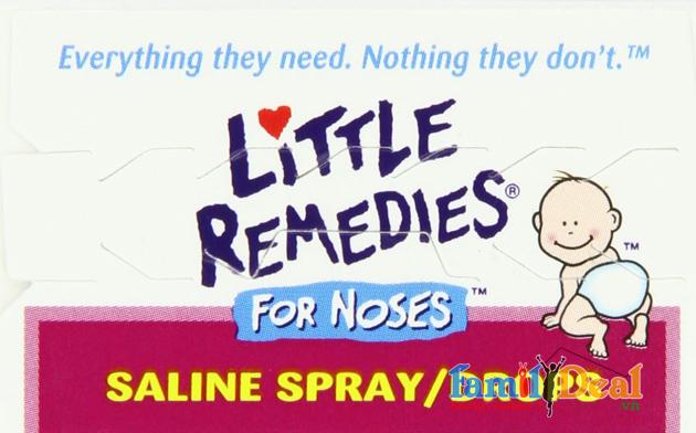 Chai xịt trị nghẹt mũi Little Remedies 30ml