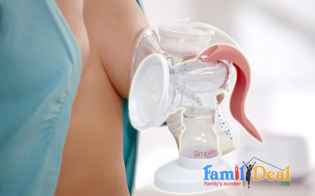 Máy hút sữa bằng tay Dr. Brown Simplisse