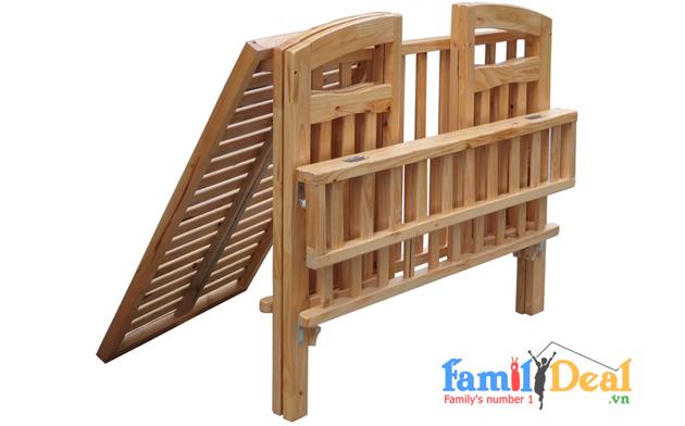 Cũi gỗ trẻ em xuất khẩu NHOMMUA HOTDEAL