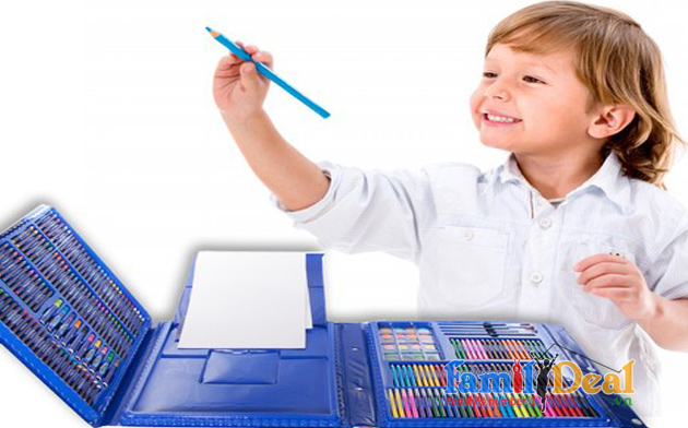 Bộ Màu Vẽ 215 món cho bé