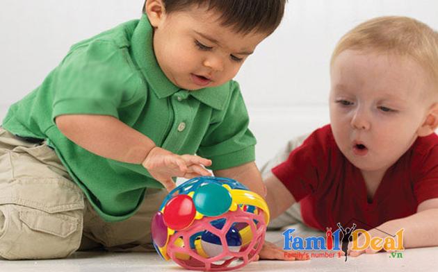 Banh lục lạc Baby Einstein Bendy Ball