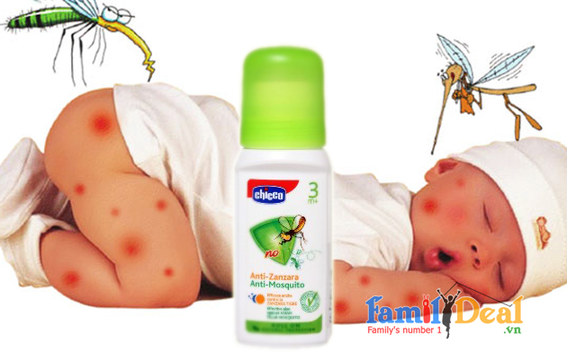 Chống muỗi Chicco dạng lăn 60 ml