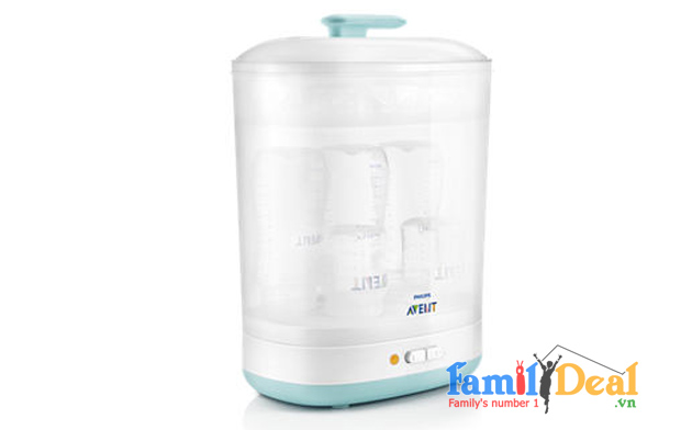Máy tiệt trùng bình sữa Avent 2 in 1