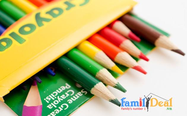Bút chì 24 màu dạng dài Crayola