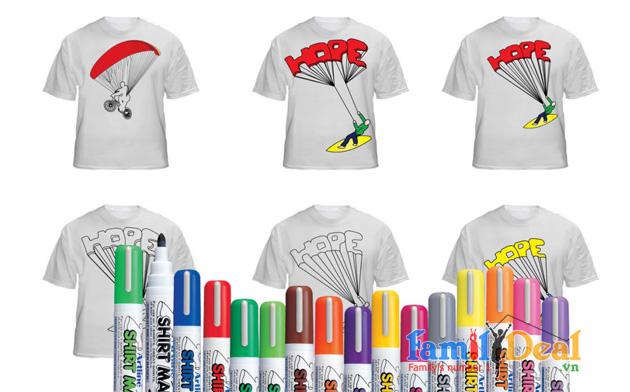 Bút lông vẽ lên vải Crayola