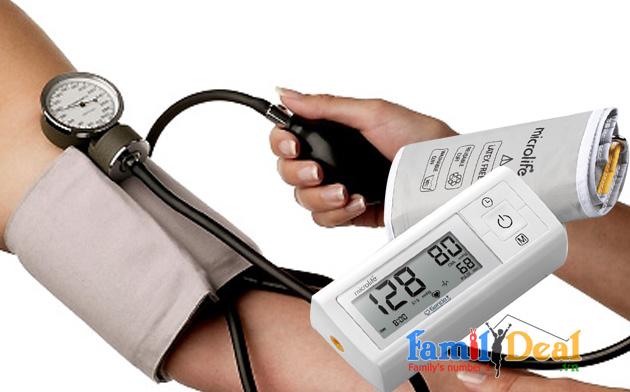 Máy đo huyết áp bắp tay Microlife A1 Easy