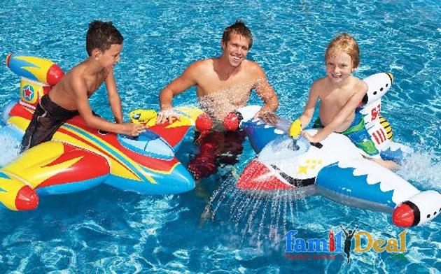 Phao bơi phi thuyền Intex