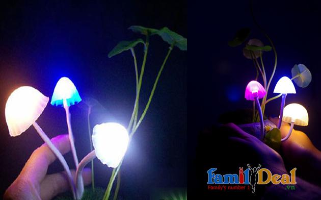 Đèn nấm cảm ứng ánh sáng avatar