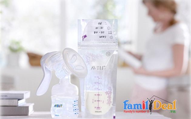 Túi trữ sữa Avent NHOMMUA HOTDEAL