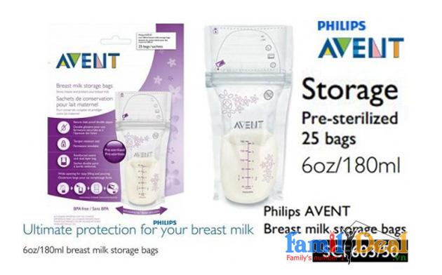 Túi trữ sữa Avent