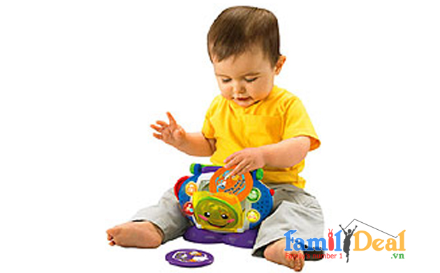Đồ chơi Fisher-Price Laugh and Learn Sing With Me CD Player NHOMMUA HOTDEAL
