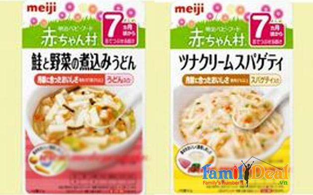 Cháo ăn dặm Meiji Nhật Bản