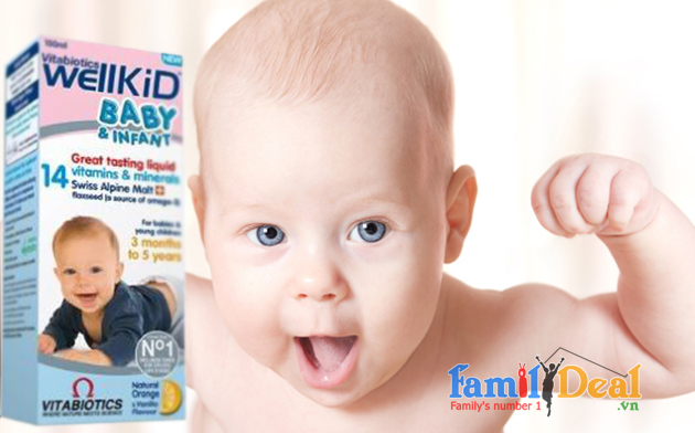 Vitamin Wellkid Baby & Infant NHOMMUA HOTDEAL
