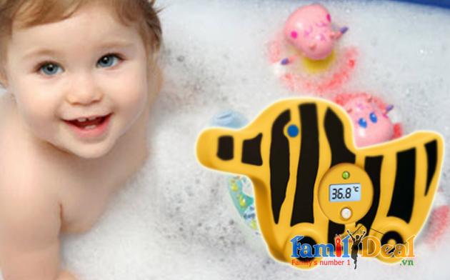 Nhiệt kế đo nước tắm cho bé BEURER JBY 08 NHOMMUA HOTDEAL