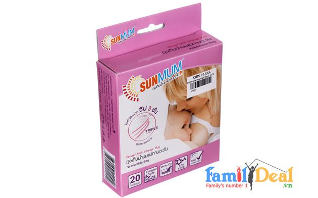 Túi trữ sữa SunMum Thái Lan