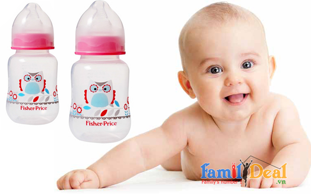 Bình sữa fisher price 120 ml