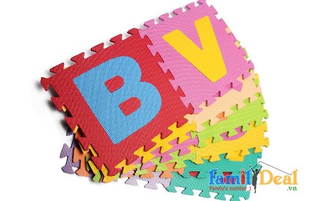 Thảm trẻ em 26 chữ cái
