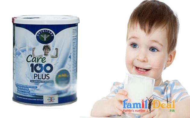 Sữa cho trẻ biếng ăn Nutricare Care 100 plus 400gr NHOMMUA HOTDEAL