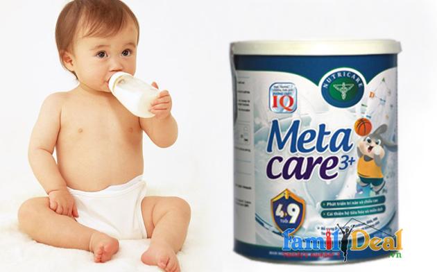 Sữa bột Metacare+3 NHOMMUA HOTDEAL