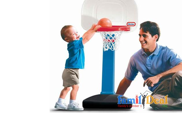 Bộ bóng rổ Little Tikes NHOMMUA HOTDEAL