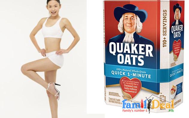 Yến mạch giảm cân Quaker Oats NHOMMUA HOTDEAL