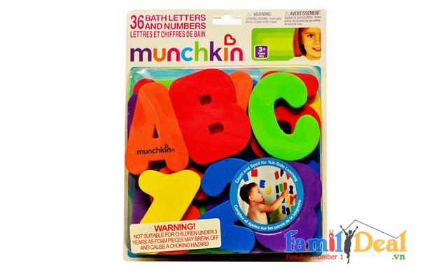 Bộ chữ cái và số Munchkin