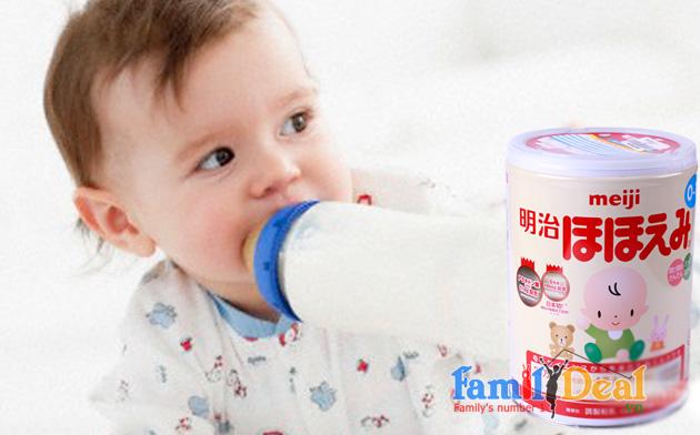 Sữa Meiji số 0 - 800gr NHOMMUA HOTDEAL