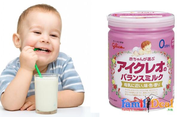 Sữa Glico Icreo số 0 - 850 gr NHOMMUA HOTDEAL