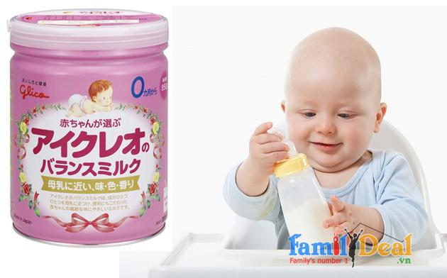 Sữa Glico Icreo số 0 - 850 gr