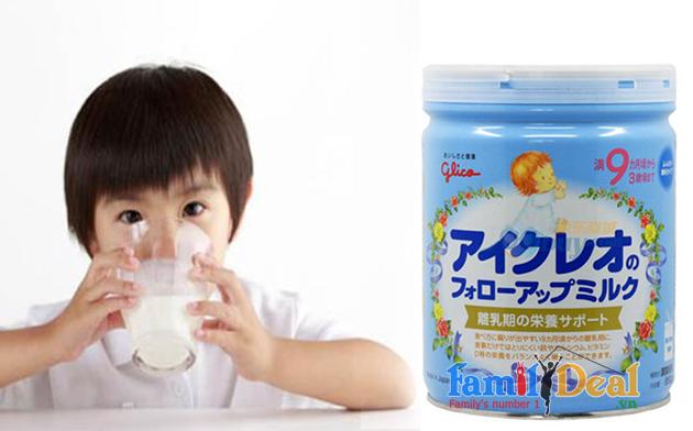 Sữa Glico Icreo số 9 - 850 gr NHOMMUA HOTDEAL
