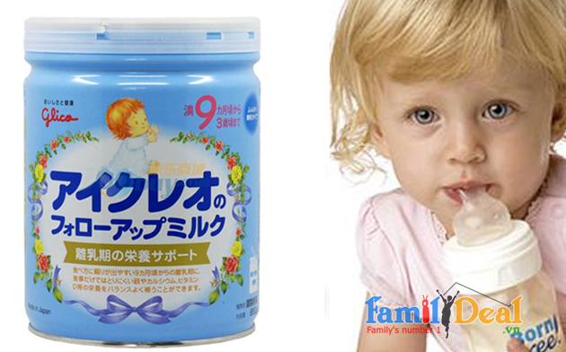 Sữa Glico Icreo số 9 - 850 gr