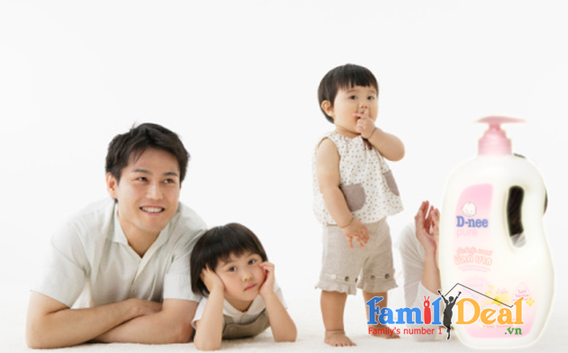 Sữa tắm gia đình chứa sữa D-Nee 800ml NHOMMUA HOTDEAL