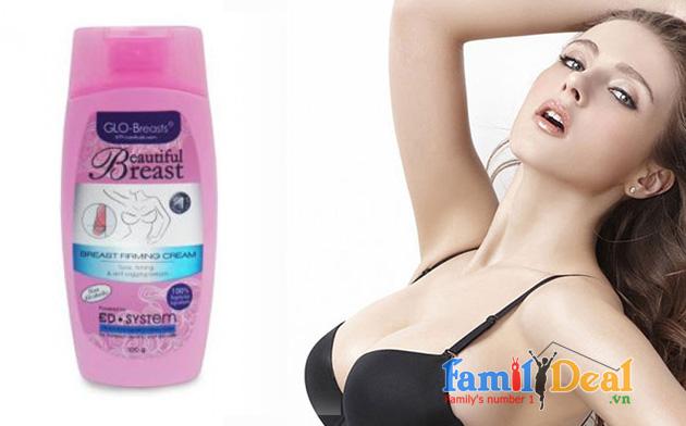 Kem làm nở ngực GLO-BREAST