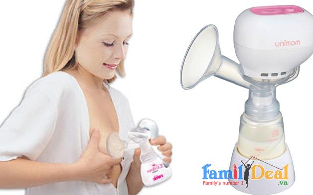 Máy hút sữa điện đơn Kpop Unimom NHOMMUA HOTDEAL