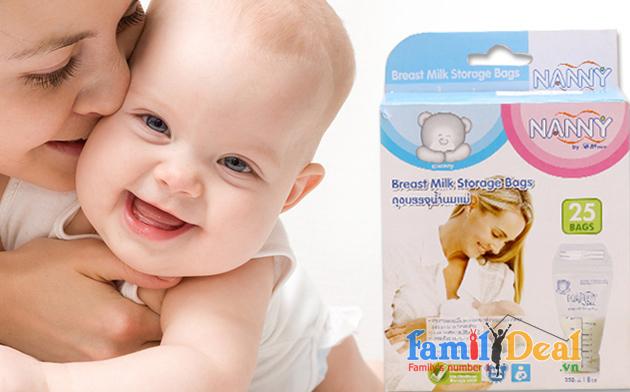 Túi Trữ Sữa Nanny Cao Cấp NHOMMUA HOTDEAL