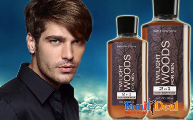 Tắm gội 2in1 Twilight Woods for men 295ml NHOMMUA HOTDEAL