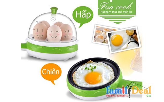 Máy Hấp Trứng Siêu Tốc NHOMMUA HOTDEAL