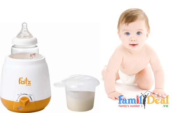 Máy hâm sữa và hâm thức ăn 3 chức năng Fatzbaby FB3003SL NHOMMUA HOTDEAL