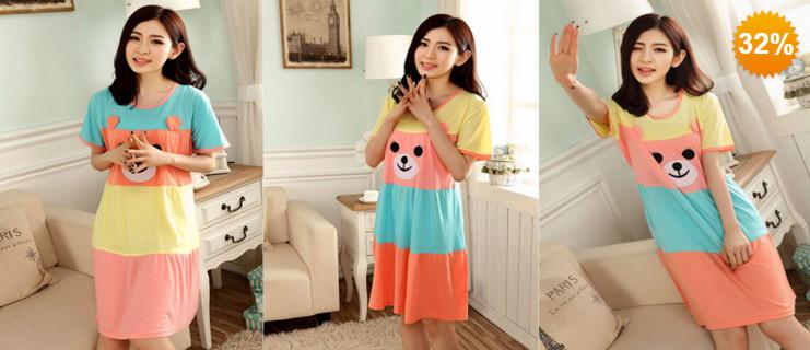 Váy bầu hình chú gấu ngộ nghĩnh NHOMMUA HOTDEAL