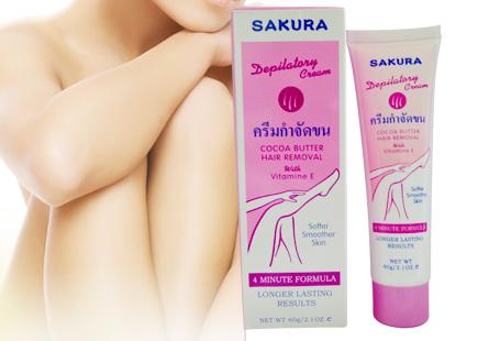 Kem Tẩy Lông Sakura NHOMMUA HOTDEAL