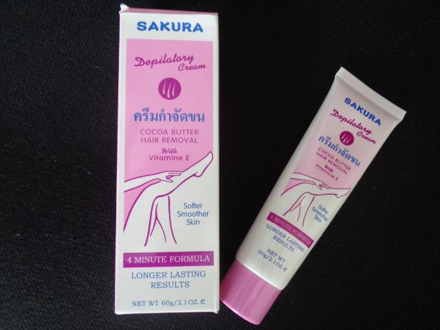 Kem Tẩy Lông Sakura
