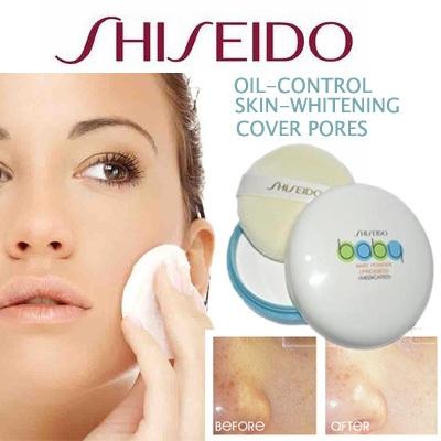 Phấn rôm dạng nén shiseido baby