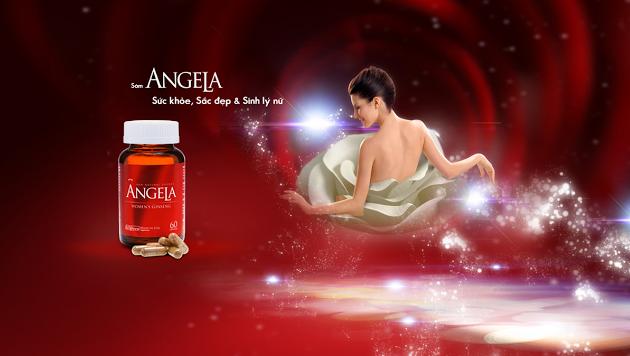 Sâm ANGELA sắc đẹp và sinh lý nữ
