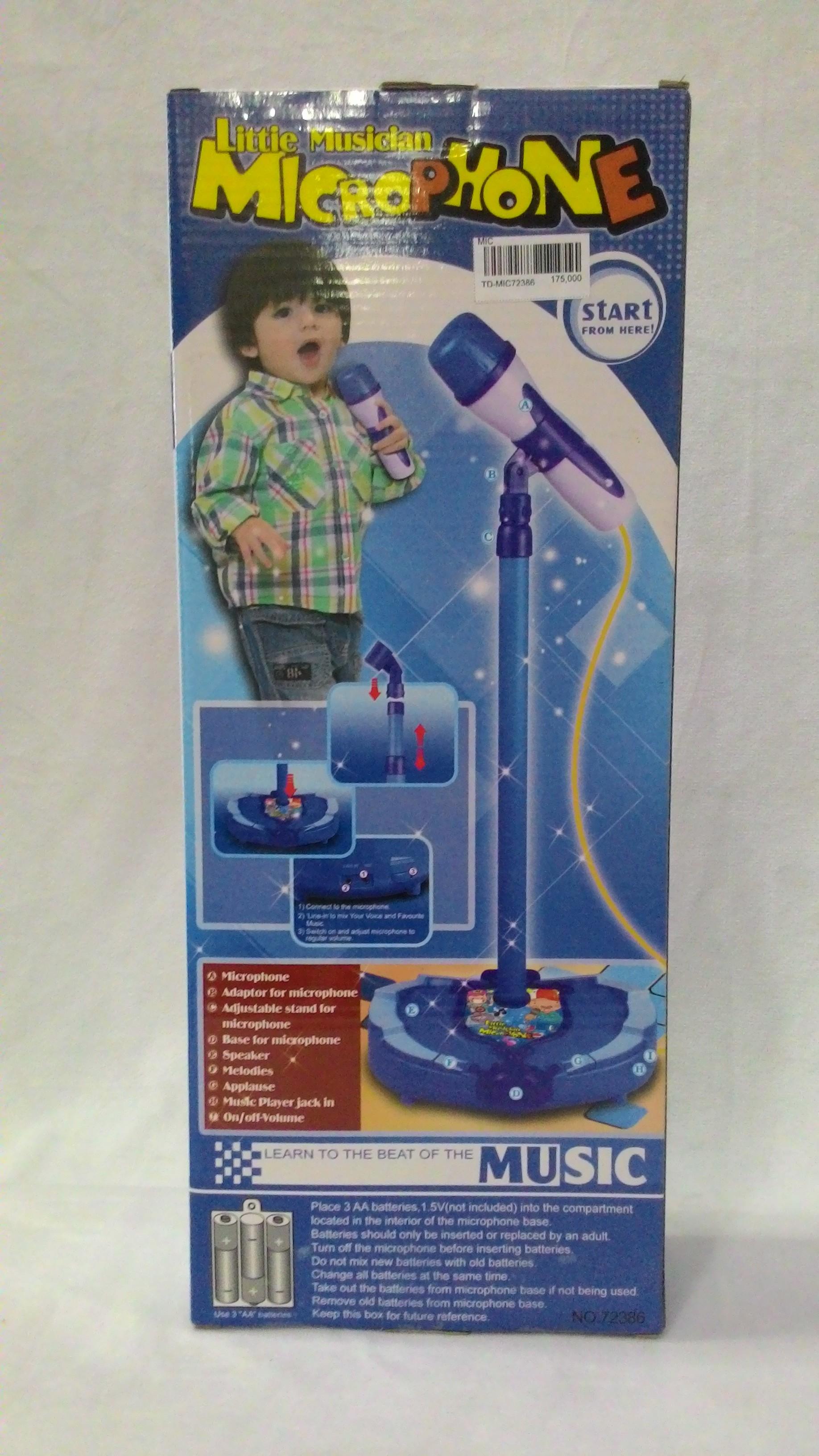 Đồ Chơi Micro karaoke màu xanh NHOMMUA HOTDEAL