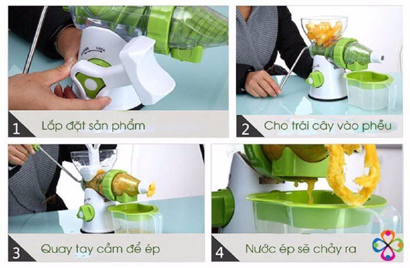 Máy ép trái cây bằng tay Manual juicer