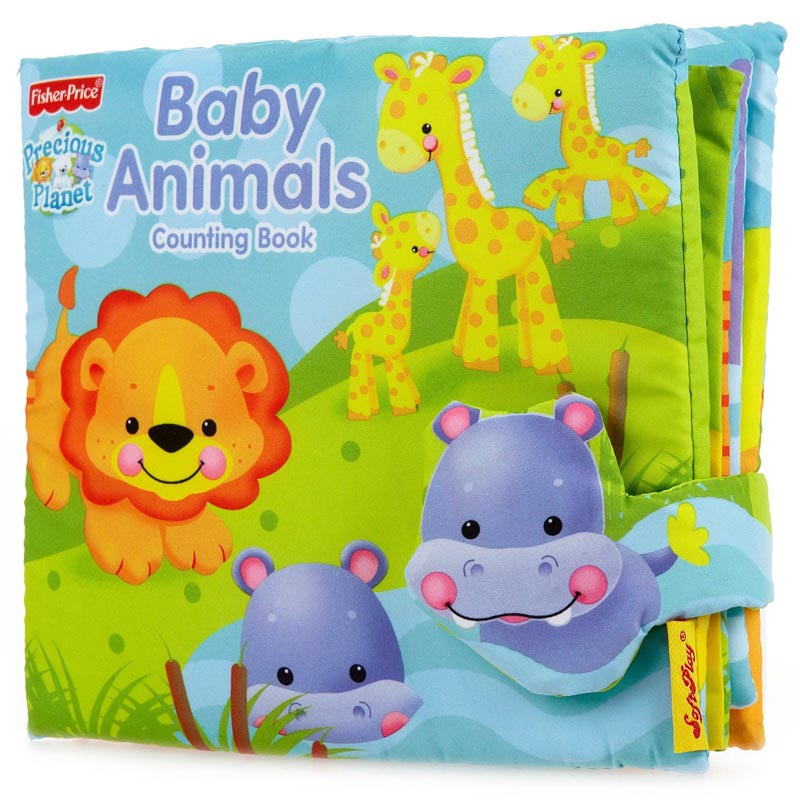 Sách vải Animals Fisher Price